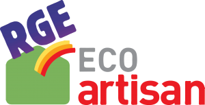 logo RGE Eco Artisan POLLEN SCOP POLLEN Bâtiment
