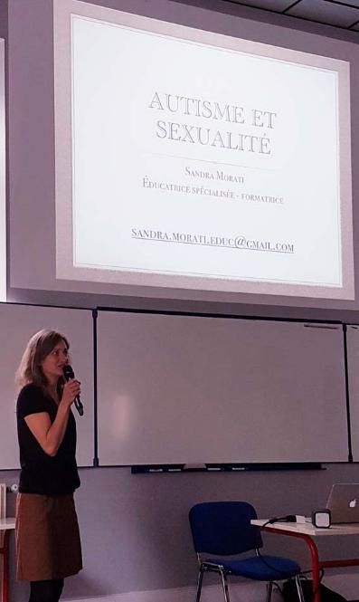 Conférence Sandra MORATI